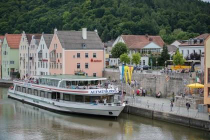 Schiffsanlegestelle © Riedenburg