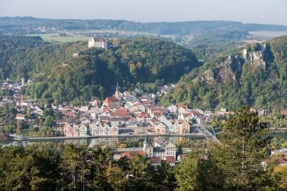 Stadt Ansicht © Riedenburg